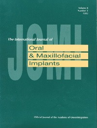 JOMI - Journal of Oral Maxiofacial Implants